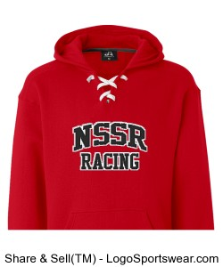 Red hockey Hoody Design Zoom